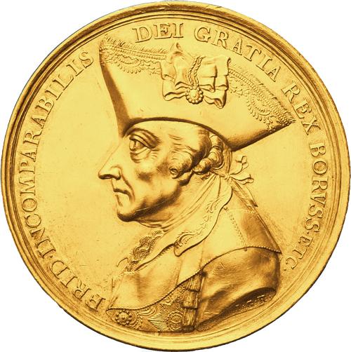 Sterbemedaille Friedrich der Große