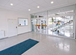 WSS-Eingangsbereich