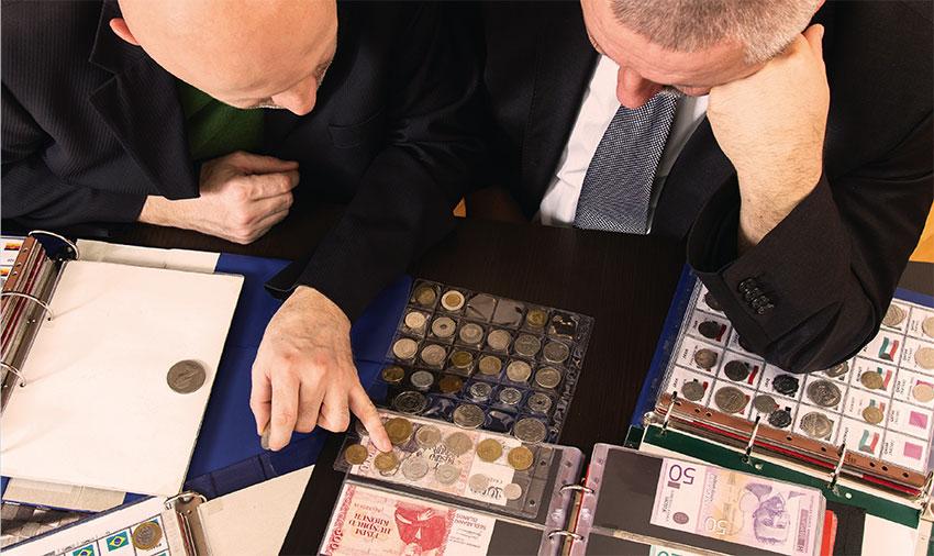 Schätzung und Bewertung Ihrer Münzen